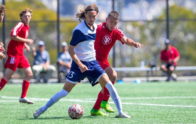 Men's Soccer Dominates Final Non-Conference Game