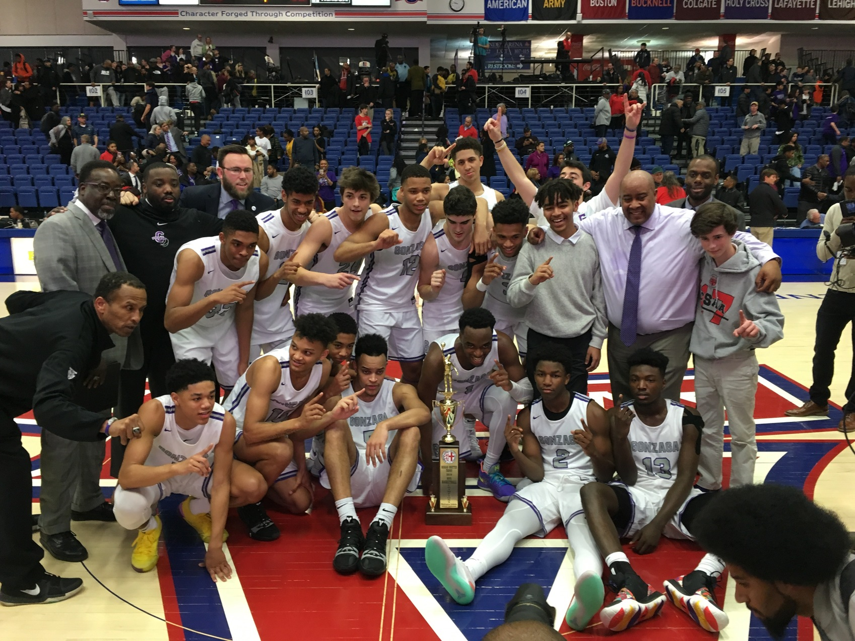 Gonzaga finishes off St. John's to win its third WCAC boys' basketball title in five seasons