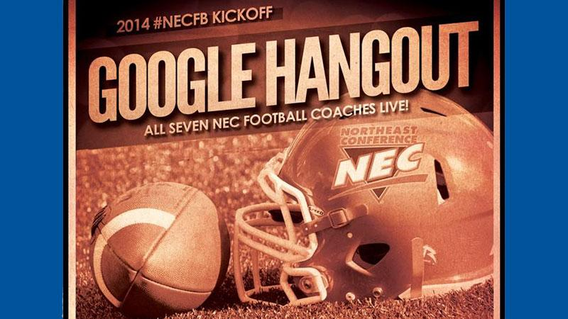 2014 #NECFB Kickoff Google Hangout on Monday