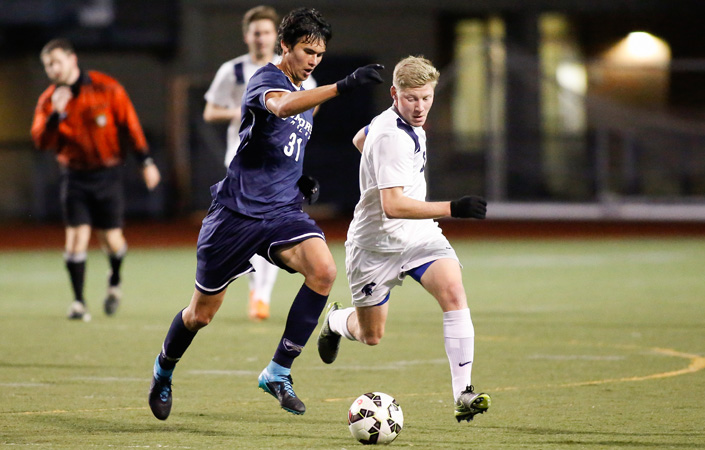 Emory Men's Soccer Advances to NCAA Second Round Behind Three-Goal First Half