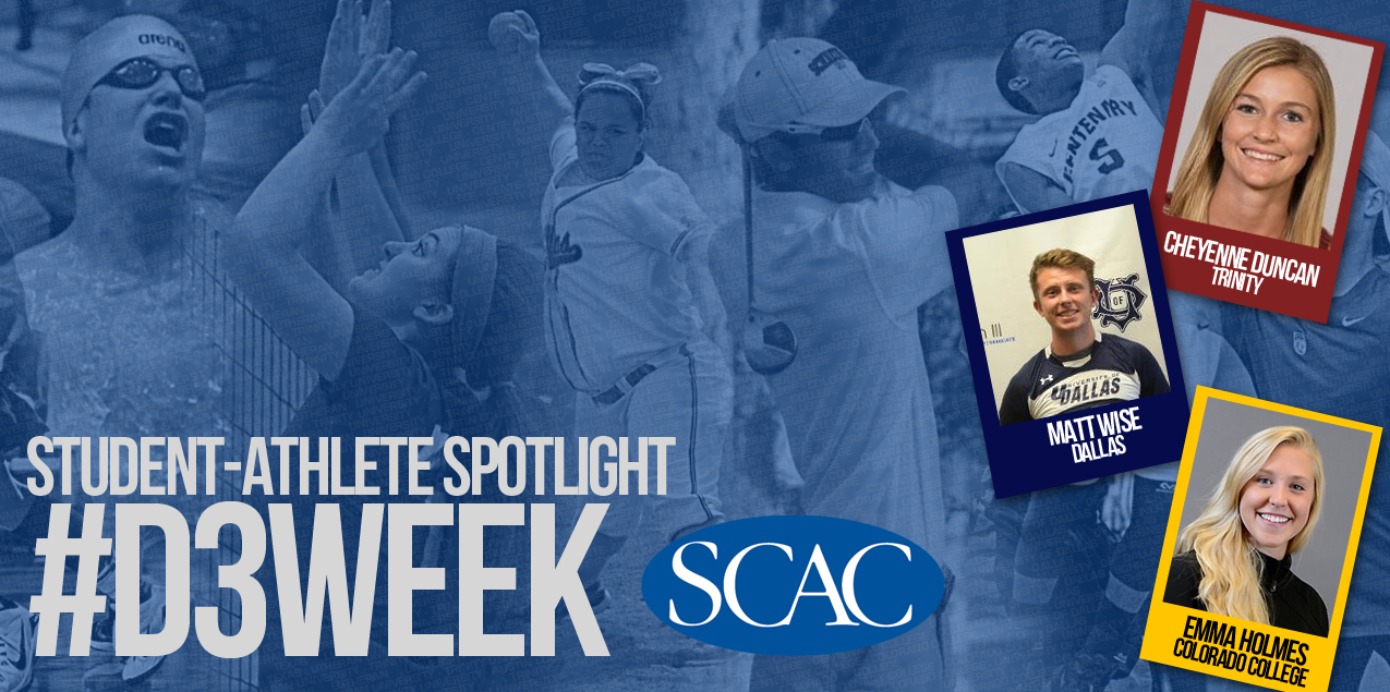 SCAC Celebrates NCAA Division III Week - Day One