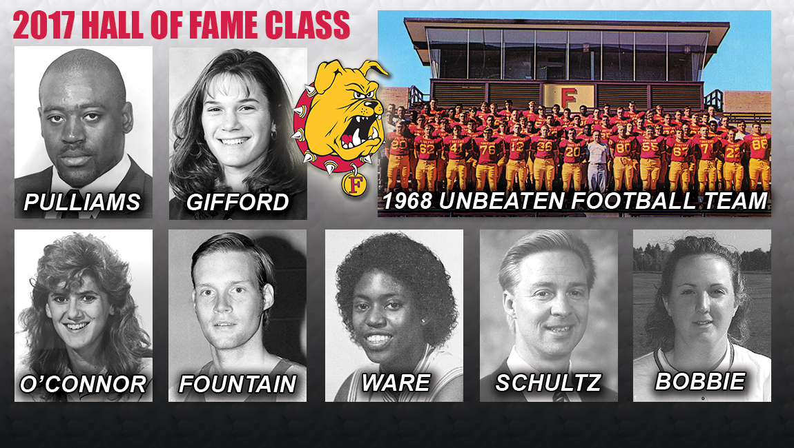 Ferris State To Enshrine Seven Individuals & First Team As Hall Of Fame Event Returns In 2017