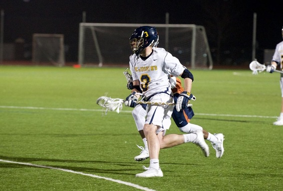 Men's Lacrosse Breezes Past Mt. St. Vincent, 17-6