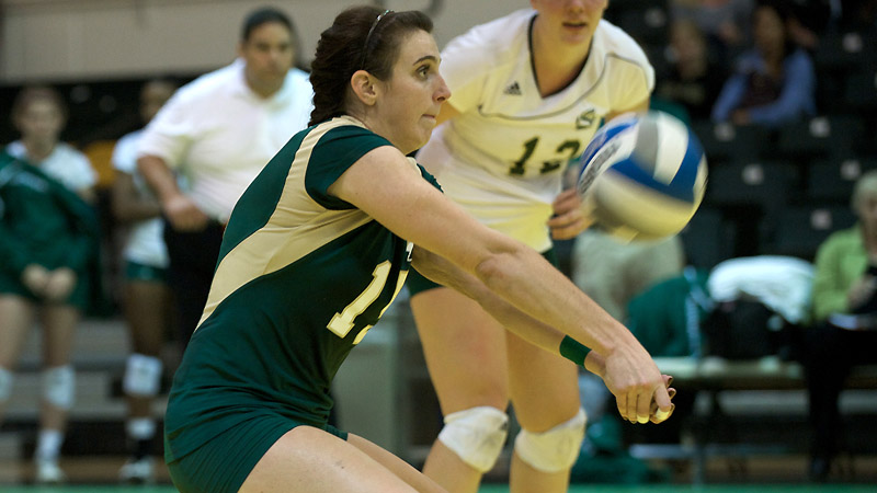 Senior libero Sydney Kordic finishes her career ranked fifth in school history in service aces and ninth in digs