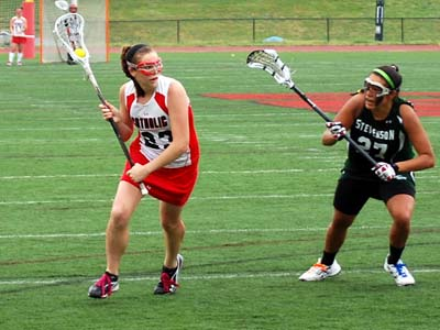 CUA hangs tough with No. 4 Gettysburg before falling 14-12