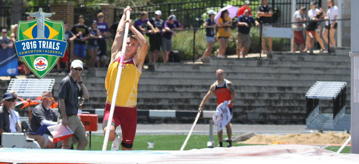 Canadian Olympic Trials an honor for CMS pole vaulter Michael Wagenveld