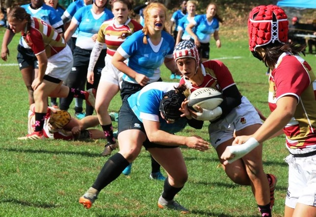 Women's Rugby: Cadets Outlast Chargers on Senior Day