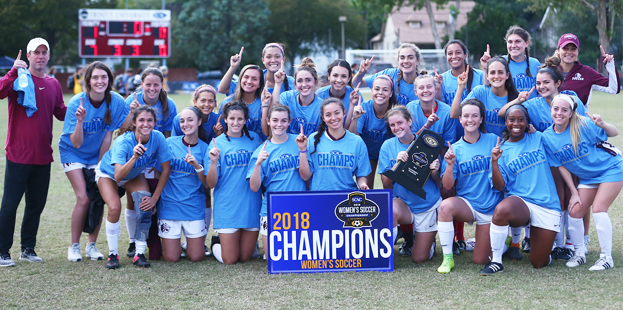 Trinity Women Win 10th Straight SCAC Soccer Title