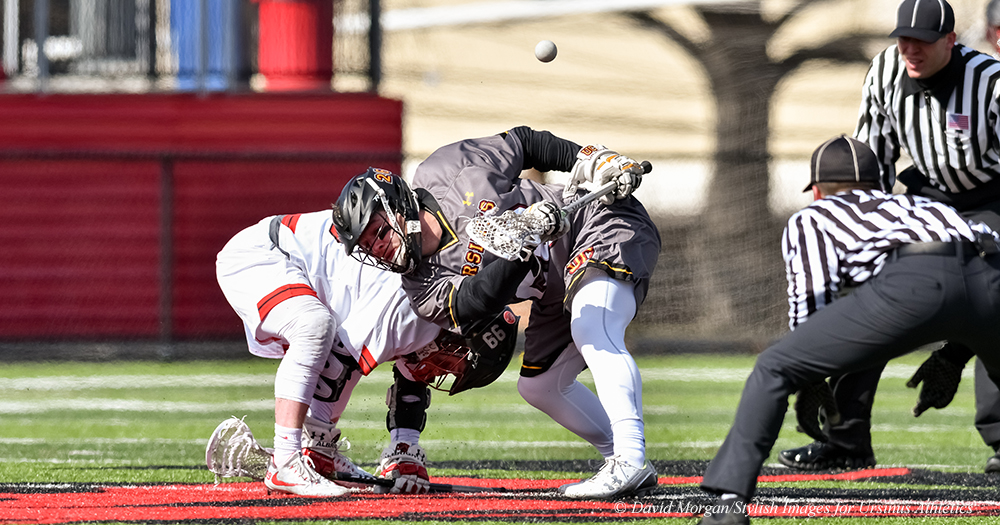 Men's Lax Knocks Off Another Ranked Foe