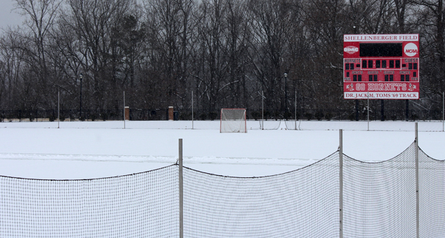 Winter Weather Forces Men's Lacrosse Game to Thursday
