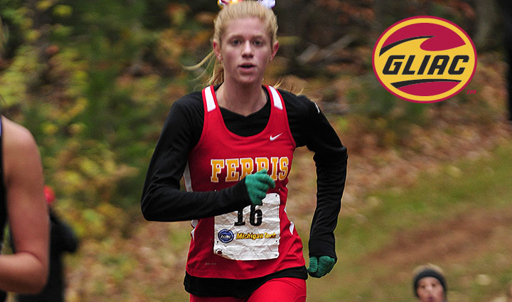 Ferris State's Samantha Johnson Earns GLIAC Athlete Of Week Laurels After Posting NCAA Mark