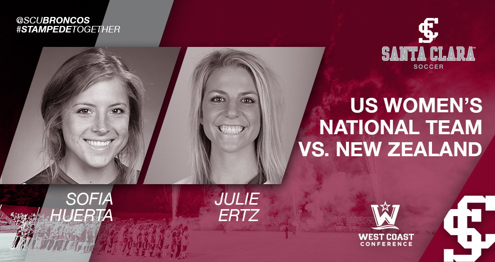 Former Women's Soccer Players Have Hand in All Three US WNT Goals Against New Zealand