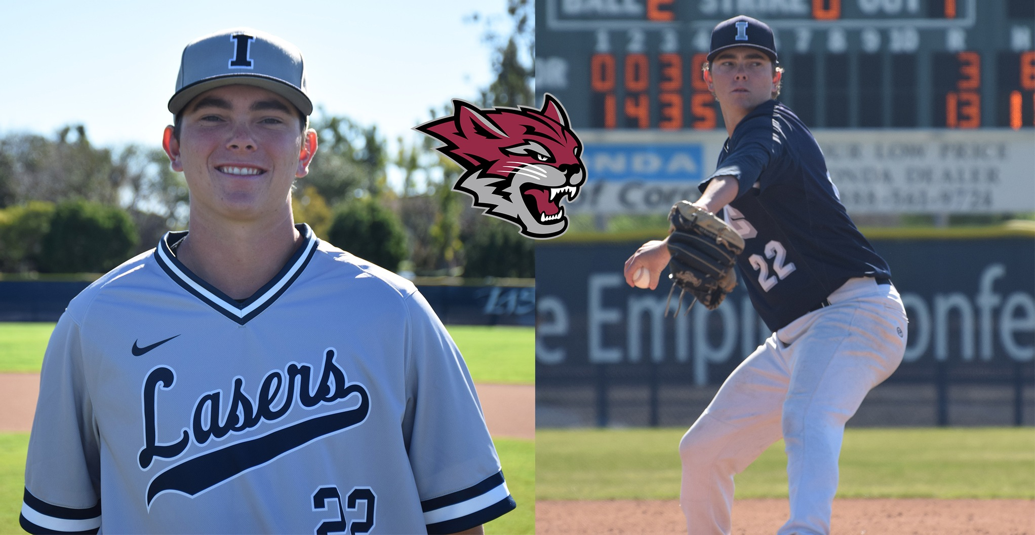 Laser pitcher Chad Burchit headed to Chico State