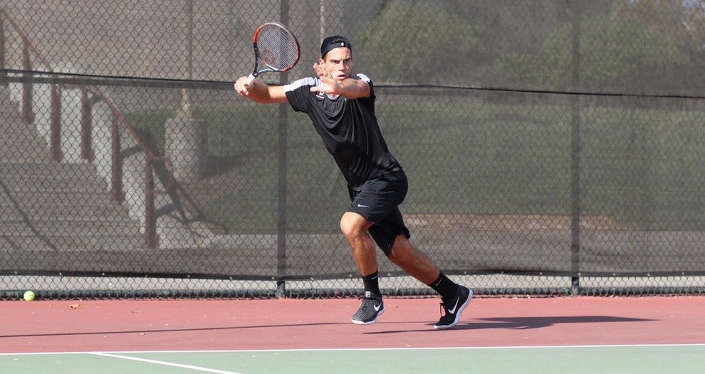 Men's Tennis Advances Two to Semifinals at Saint Mary's Fall Invitational