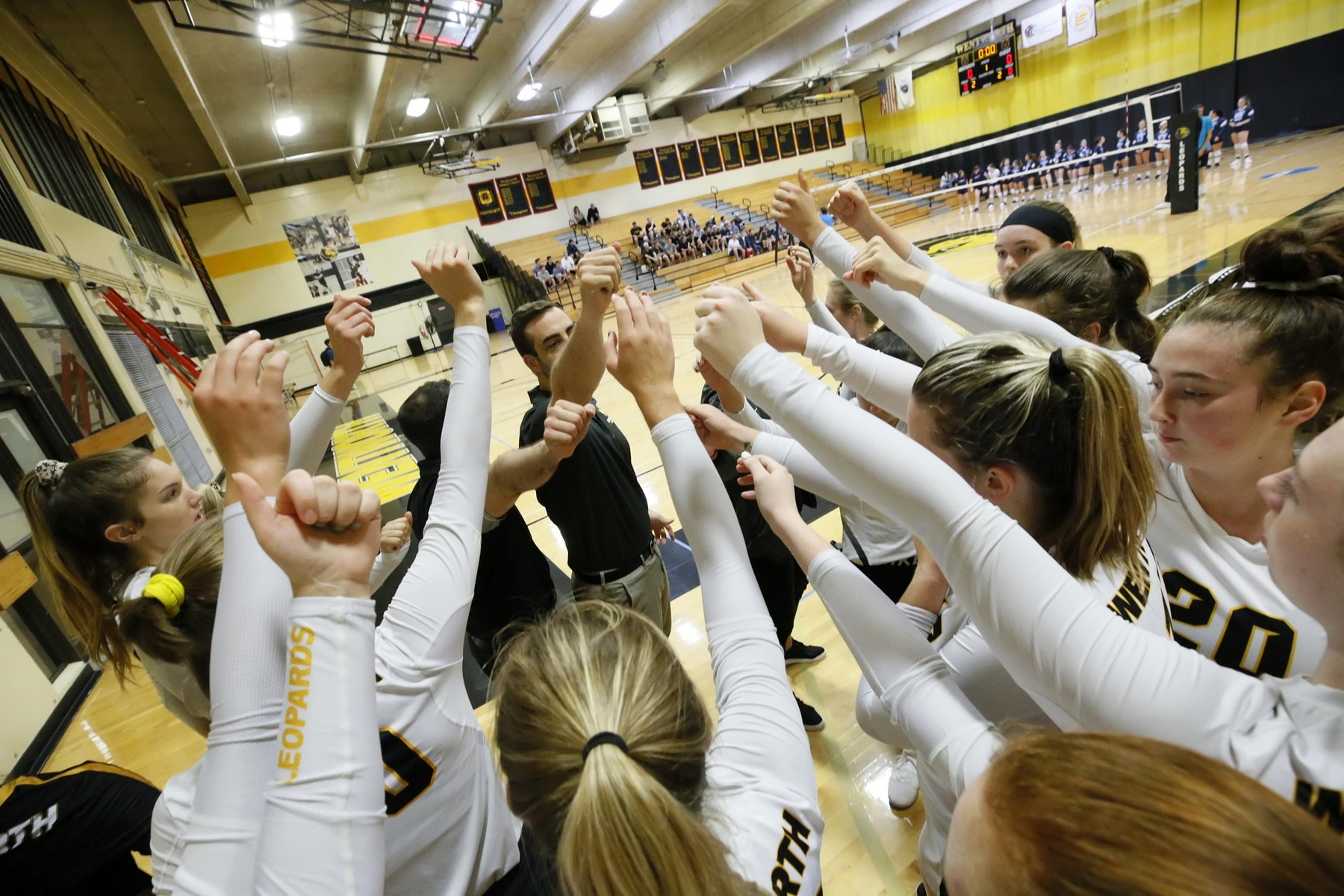 Emerson Overpowers Women's Volleyball in Non-Conference Thriller