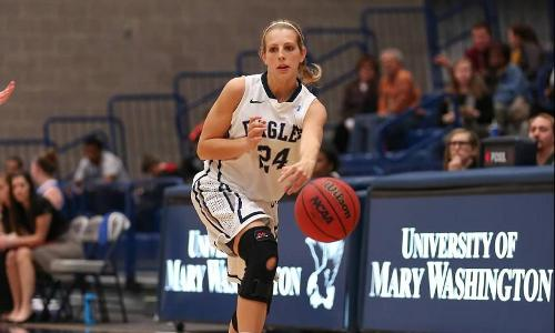 Haeuptle Paces UMW With 13 Points; Eagles Knock Off #13 Christopher Newport on Wednesday, 74-44