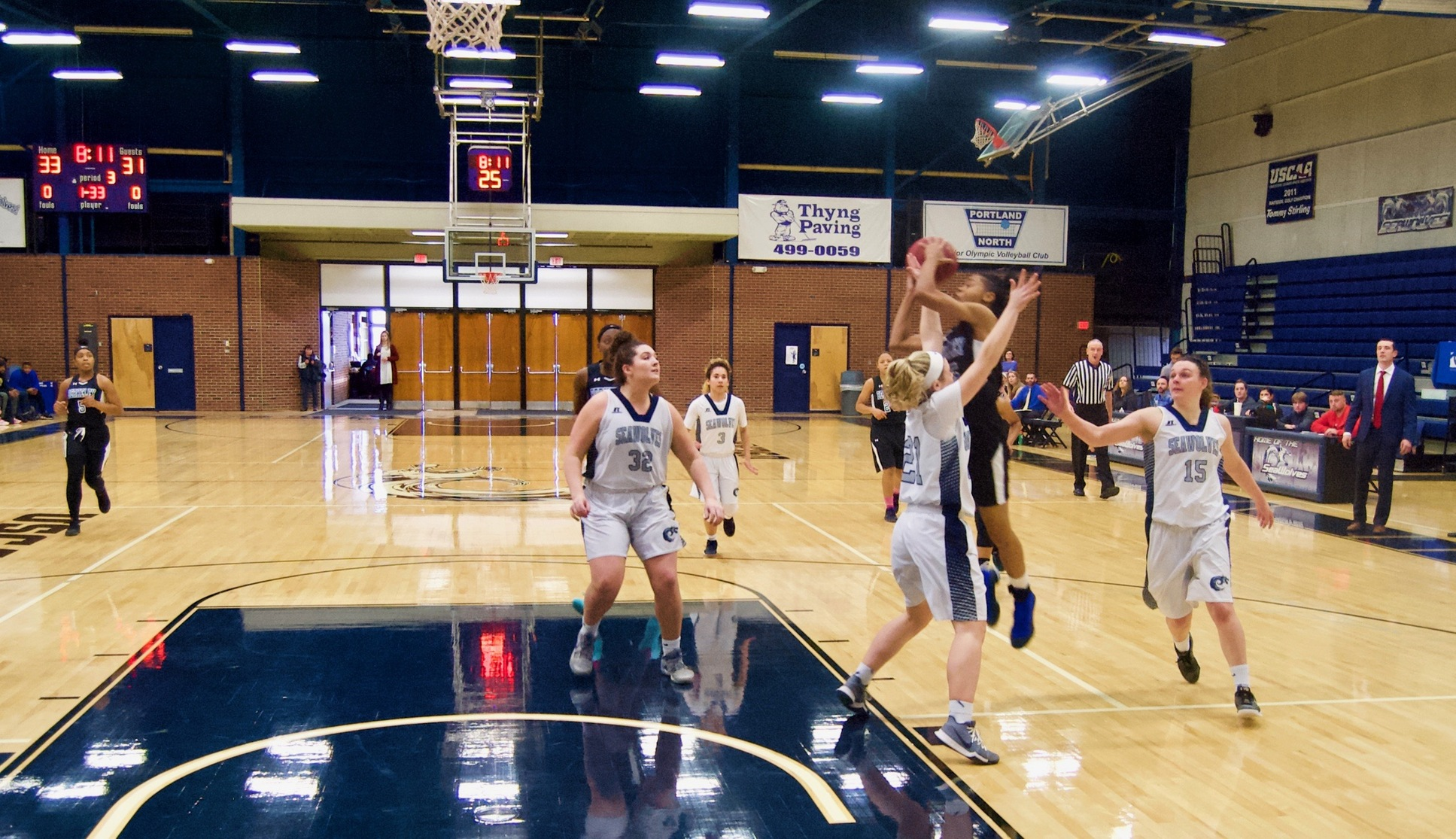 Lady Wolves Use Big Third Quarter To Conquer Knights