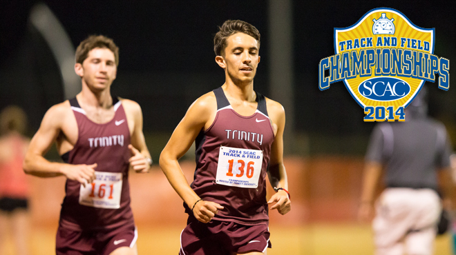 Trinity Holds Day One Lead at 2014 SCAC Men's Track & Field Championship