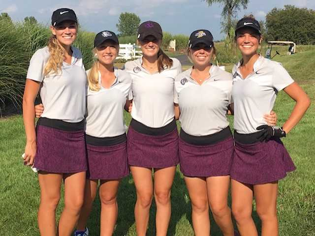 Lady Golfers Place 5th at HCC Match