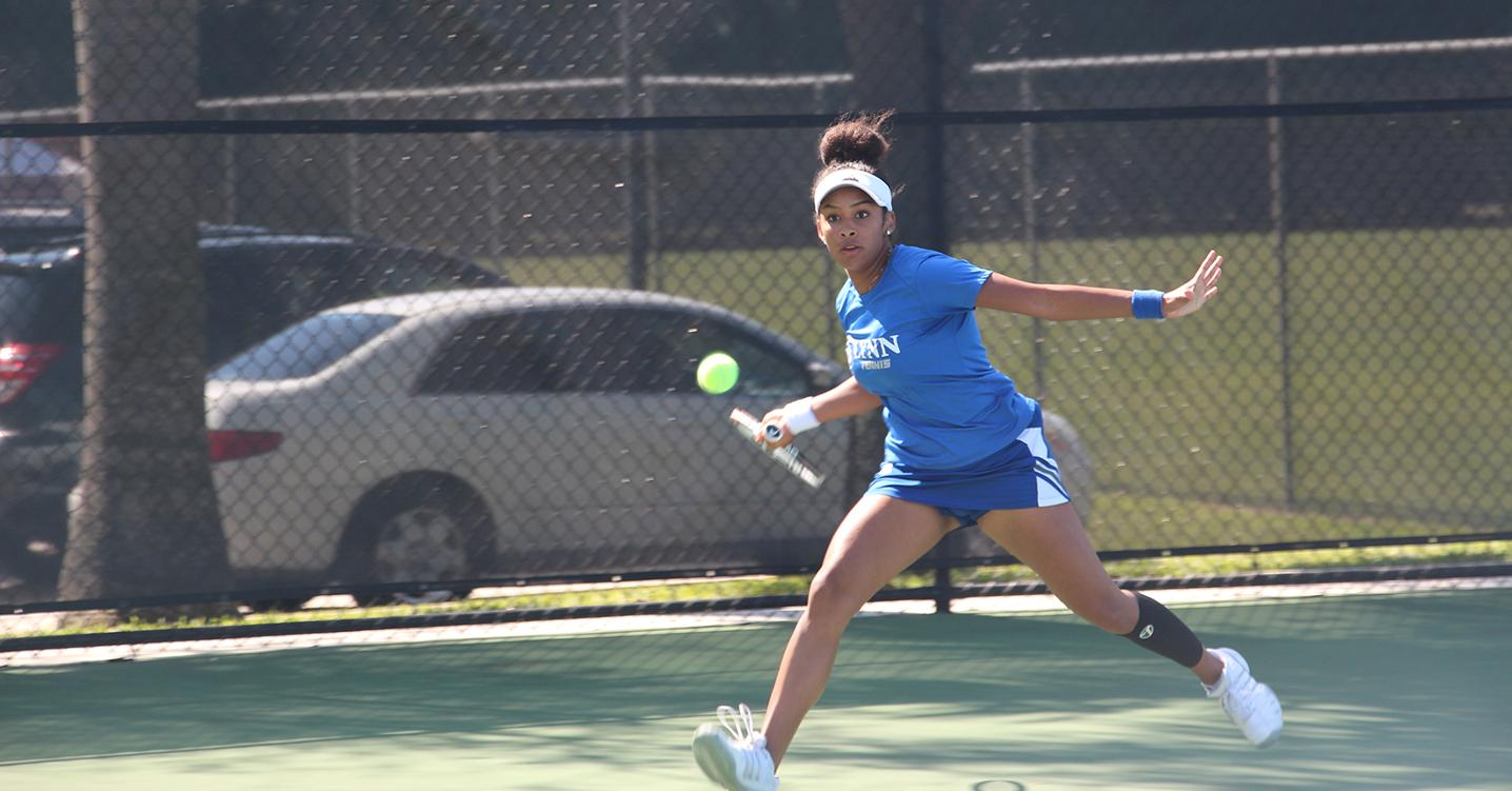No. 5 Women's Tennis Defeats Auburn Montgomery
