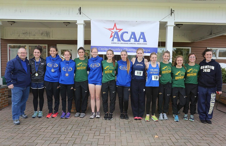 Women Place Second at ACAA Championships, Moheimani, McIntyre Earn First-Team Finishes