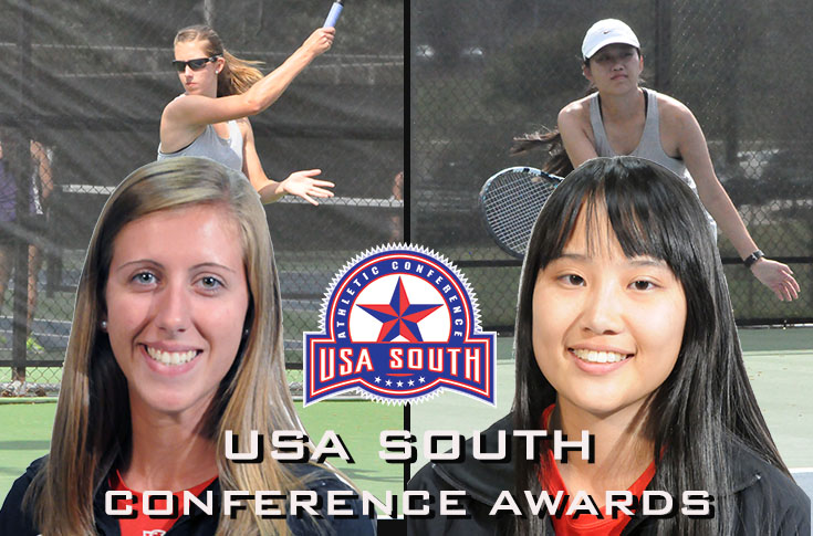 Women's Tennis: Jenna Eppes and Jia Lee earn USA South conference awards