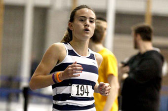 Selig earns third All-America honor with runner-up finish in the mile
