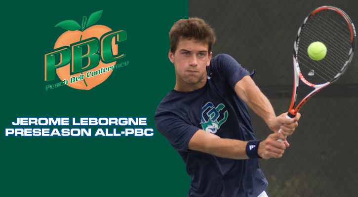 GC's Leborgne Named to PBC Preseason Men's Tennis Team