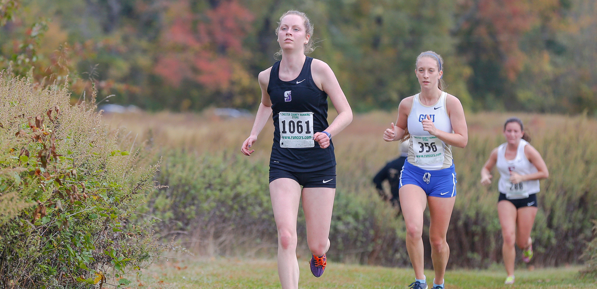 Senior Patricia Hoffman became the first Royal since 2013 to earn all-Landmark Conference honors by finishing 13th at the conference championships on Saturday.