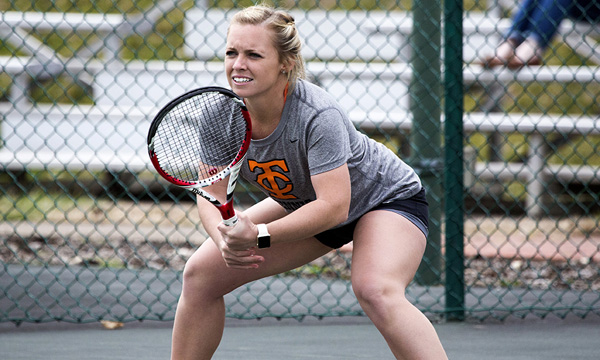 Tusculum sweeps singles to defeat Coker 8-1 in suspended match