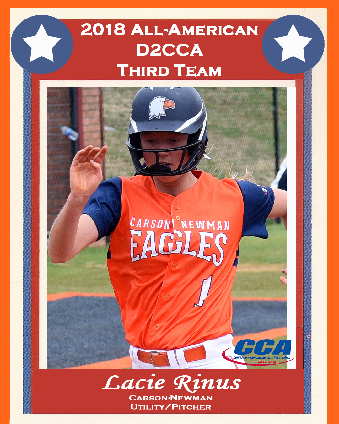 Rinus goes back-to-back as D2CCA All-American