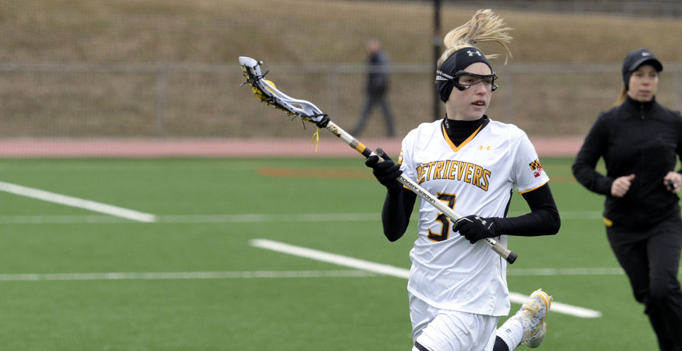 UMBC Women's Lacrosse Defeats American, 9-5, Behind Big First Half