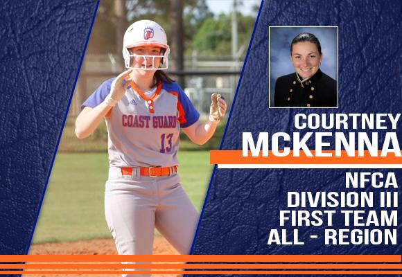 McKenna Named NFCA First Team All-Region