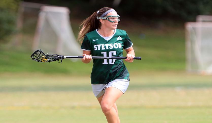 Lehmann's Record-Setting Efforts Lifts Stetson to Victory