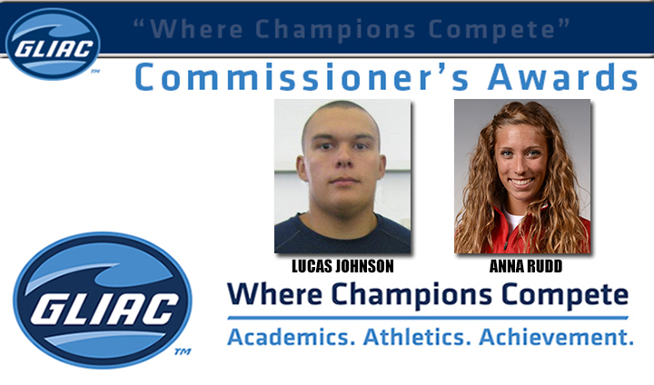 Two Ferris State Track & Field Athletes Earn GLIAC Commissioner's Award