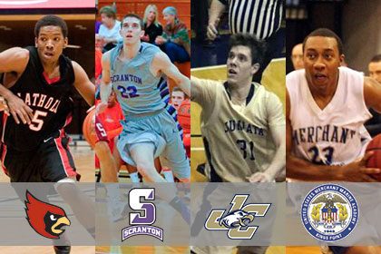 Men's Basketball Tournament Seeding Announced