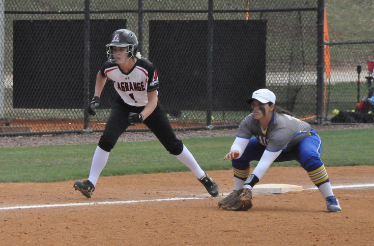Softball: Salem deals Panthers two tough luck losses in USA South doubleheader