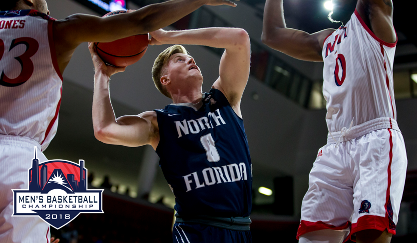 No. 5 North Florida Rides Hot Shooting to #ASUNMadness Semifinals