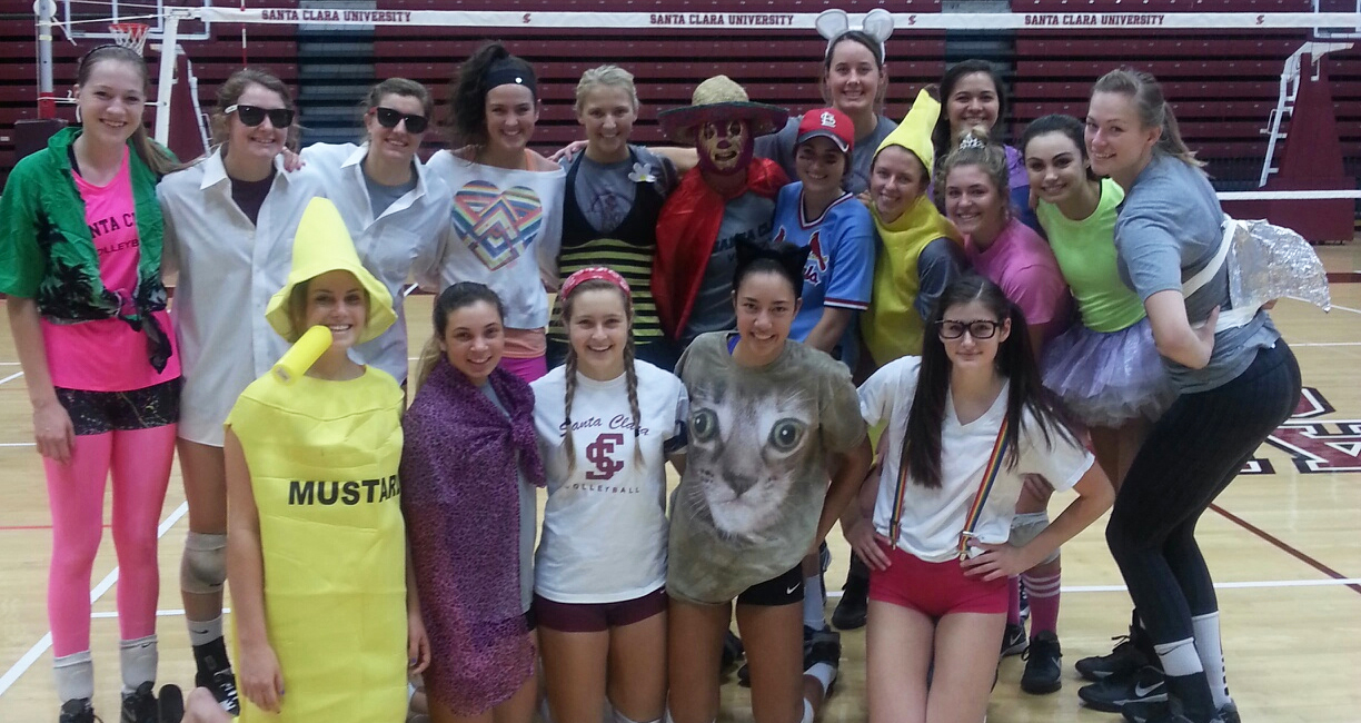 Volleyball Travels To Gonzaga On Halloween Night And Then Portland Saturday