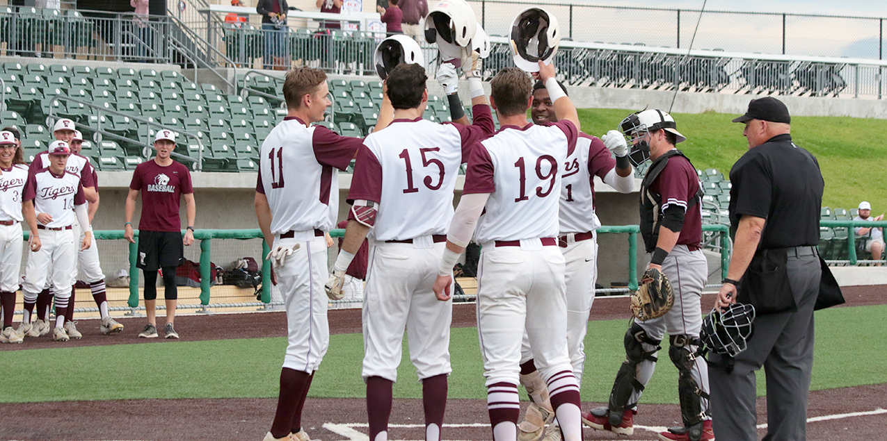 Trinity Defeats Centenary in Game Two of the SCAC Baseball Tournament