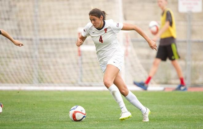 Christina Burkenroad Selected in National Women's Soccer League Draft
