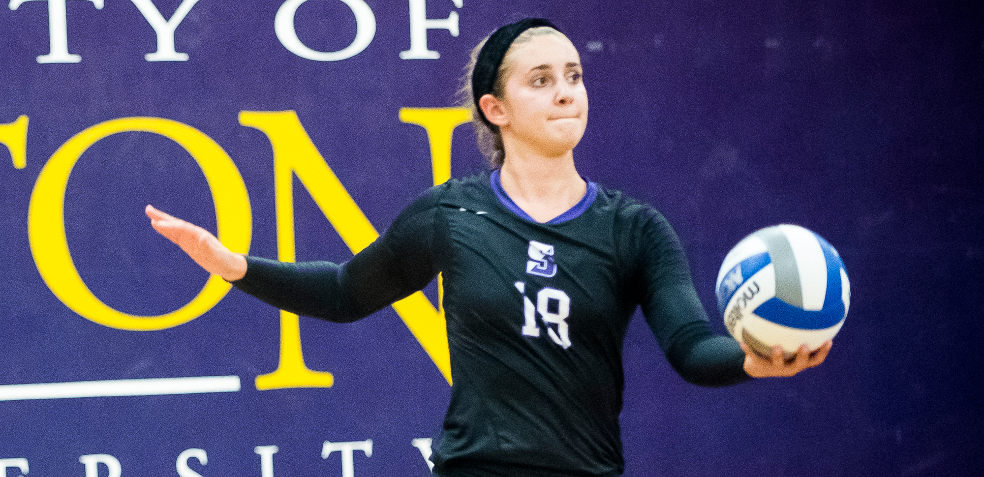 Junior Morgan Rentzheimer had seven kills, 10 digs and six block assists as the Royals rallied past Penn State-Berks on Tuesday night.