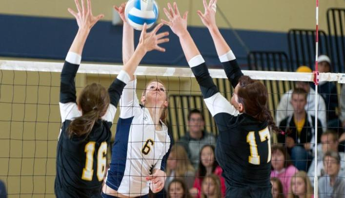 Volleyball Defeats UW-Oshkosh in Regular Season Home Finale