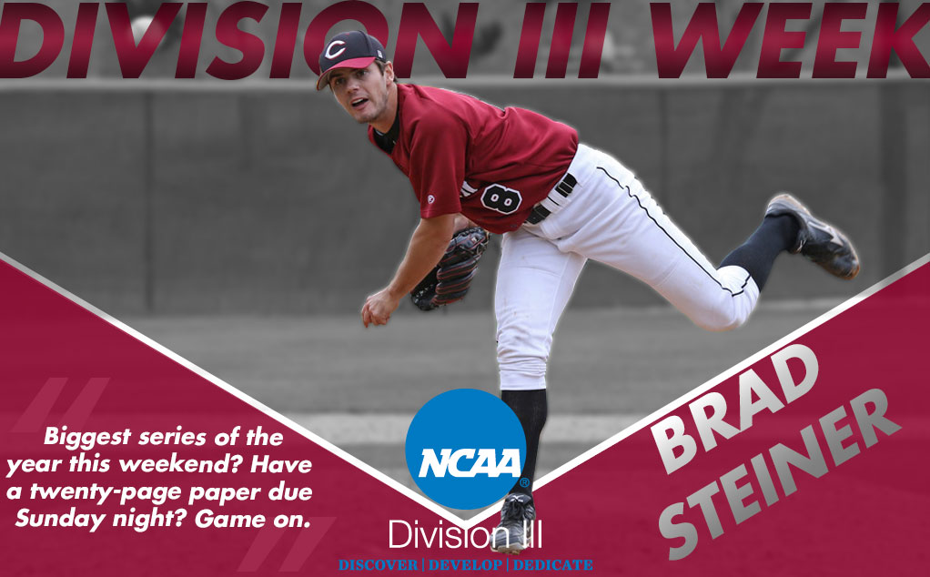 #D3Week featured student-athlete: Brad Steiner, Baseball
