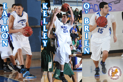 GNAC Men's Basketball All-Conference Teams Announced