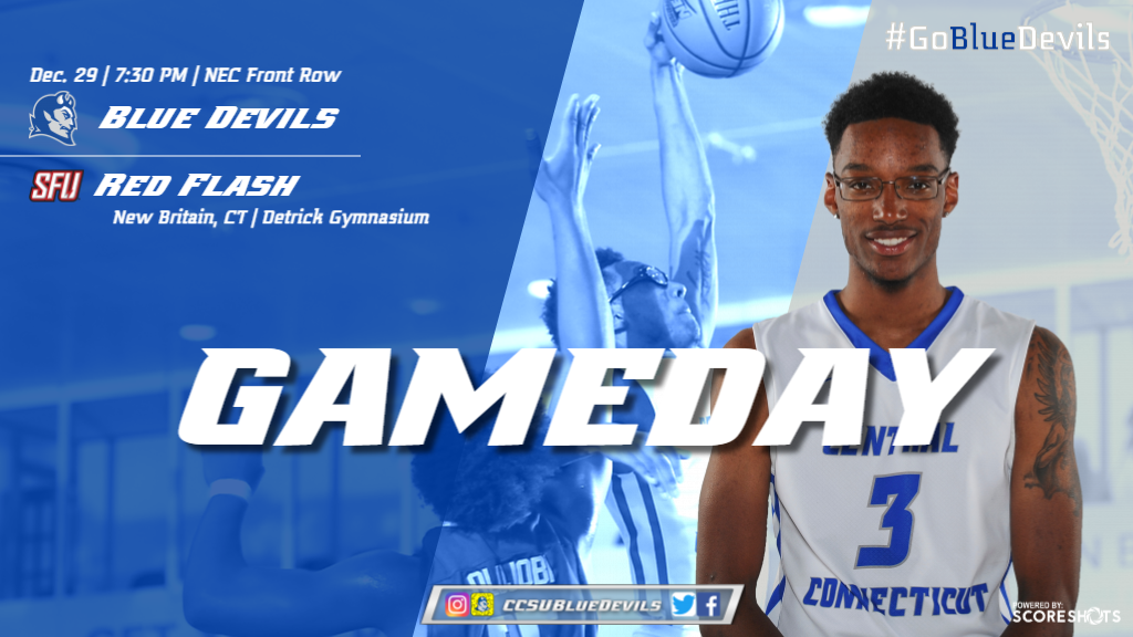 Men's Basketball Hosts Saint Francis U in Conference Opener on Friday Night