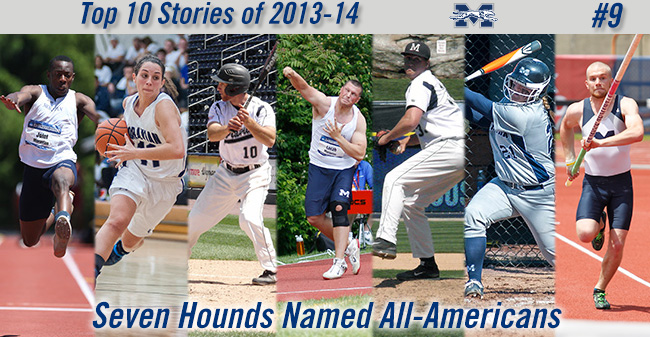 Top 10 Stories of 2013-14 - #9 Seven Greyhounds Named All-Americans