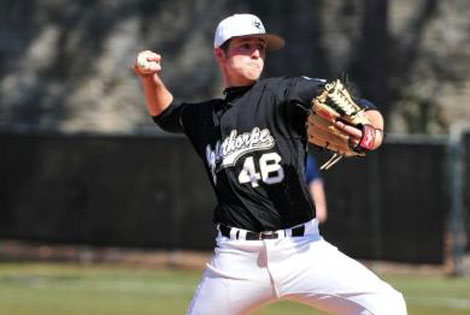 Oglethorpe's Briend Signs Professional Baseball Contract