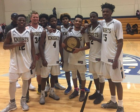 WGTC Knights take DIII Men's Basketball Championship