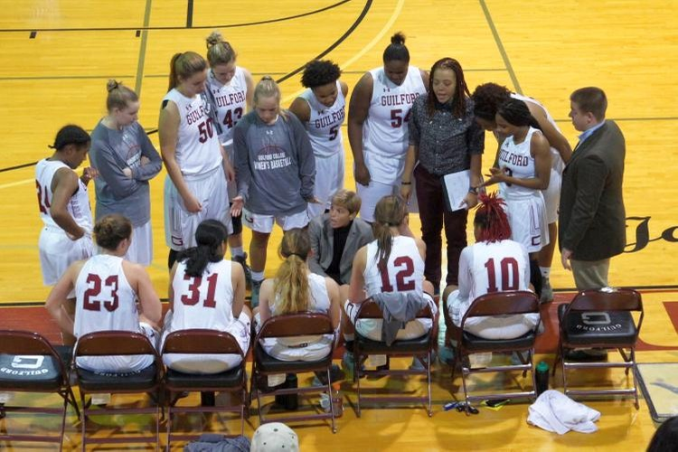 Guilford College Women's Basketball Team (John Bell photo, Touch A Life Photography)